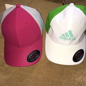 NWT Adidas Golf caps
